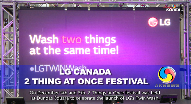 LG Canada - 2 Things At Once Festival