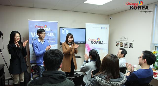 아리랑 코리아 미디어 방송 아카데미 1기 수료식