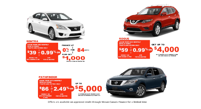 Willowdale Nissan - 2016 Redline ClearOut Sales Event