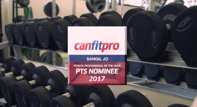 Fitness Professional of the Year - Top 5 Nominees 2017 - PTS - Sang Il Jo (Trainer Jo)