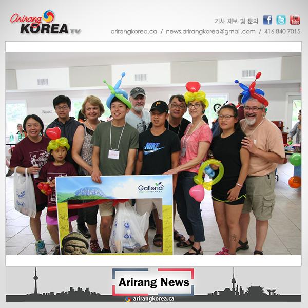 한인양자회 여름캠프 참가자들 한식과 한국문화 체험
