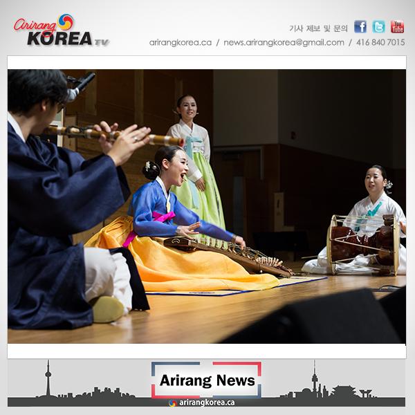 캐나다한인음악협회 주최 '우리의 소리' 공연 성료