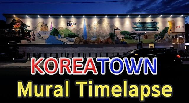 Koreatown Mural Timelapse