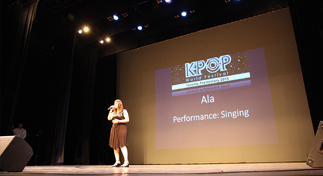 K-Pop World Festival Toronto - Ala