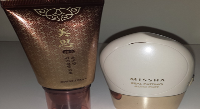 MISSHA Cho Bo Yang BB Cream & Real Patting Auto Puff