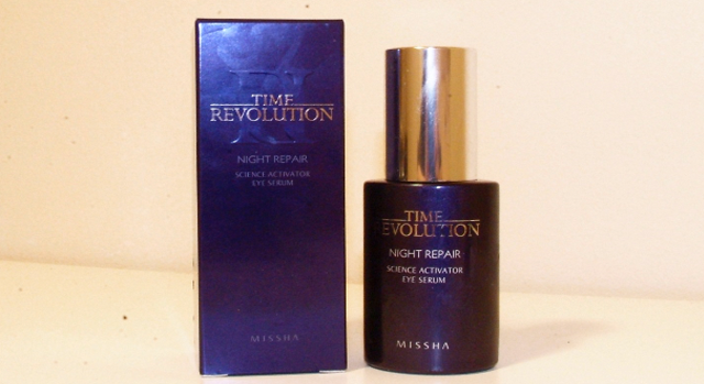 MISSHA Time Revolution Night Repair Science Reactivator Eye Serum