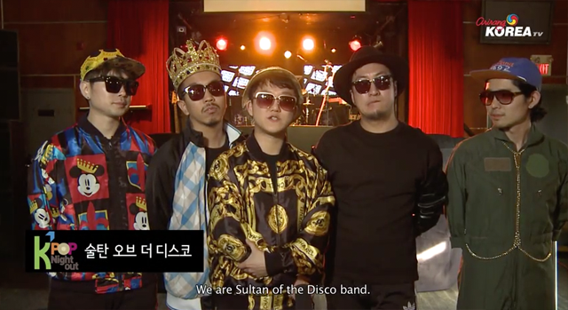 [CMW_Kpop Night Out] 술탄 오브 더 디스코 인터뷰 (Sultan of the Disco Interview)
