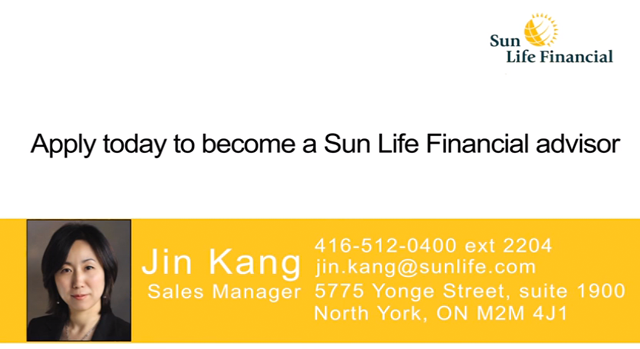 Sun Life Financial - Jin Kang