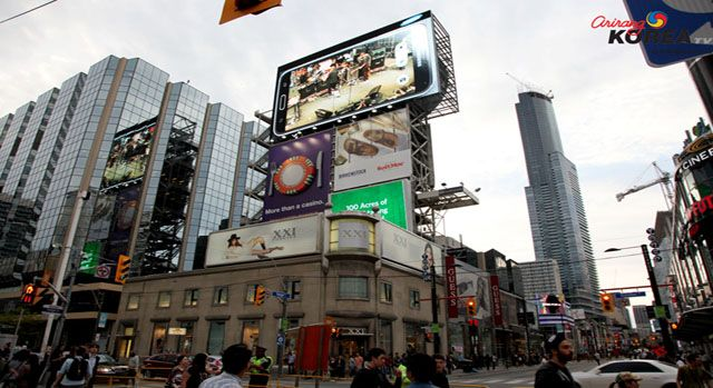 Launch of Canada's Largest Outdoor LED Billboard at Yonge-Dundas Square