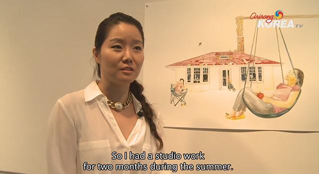 Aligning Memories Art Exhibit by Jihee Min