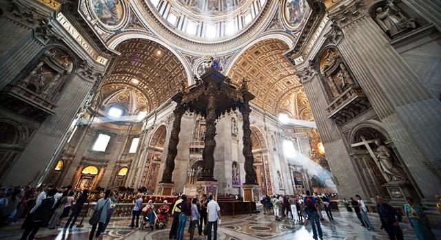 이탈리아 사진여행 Part 1 성 베드로 성당 (St. Peter's Basilica)