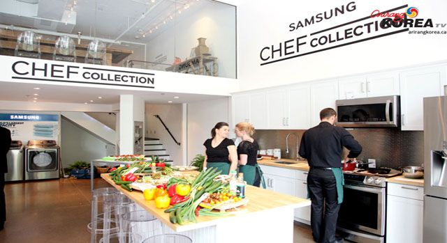 Samsung Canada's 2014 Chef Collection